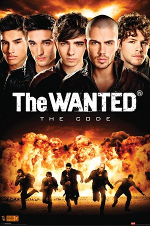 The Wanted The Code Tour poster