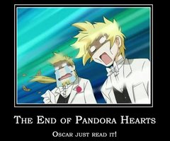 The end of Pandora Hearts