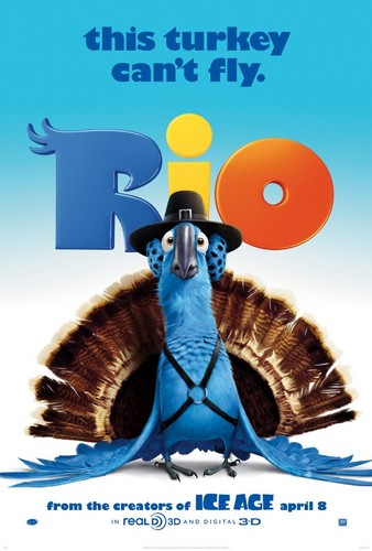 Rio wallpaper possibly with anime entitled This Turkey Can't Fly