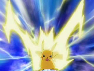 Thunderbolt - pikachu Photo