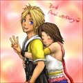 Tidus and Yuna - final-fantasy-x fan art