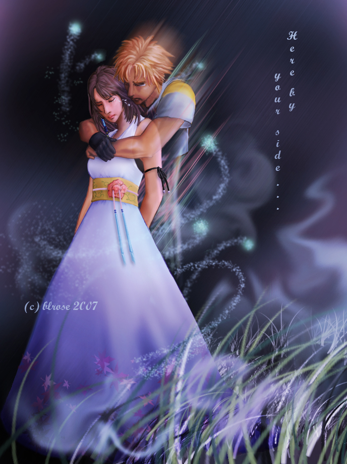 Tidus and Yuna Final Fantasy Series Wallpaper Final Fantasy X in