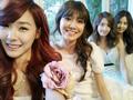Tiffany, Sooyoung, Yoona & Seohyun Selca