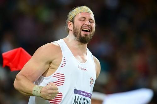 Tomasz Majewski won the oro medal!