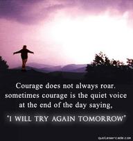 Try Again Tomorrow...
