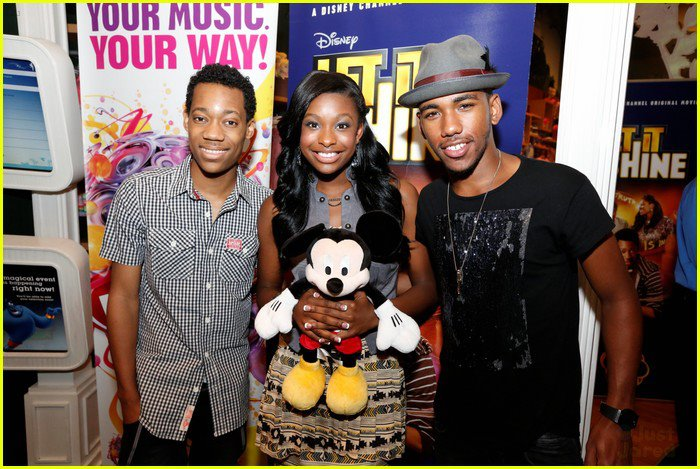 Tyler, Brandon, and Coco
