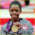 U.S olympian Gabby Douglas wins gold medal in gymnastics. - the-olympics photo