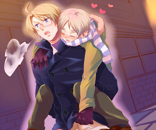UsUk - yaoi Photo