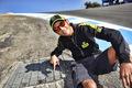 Valentino in corkscrew (Laguna Seca 2012)