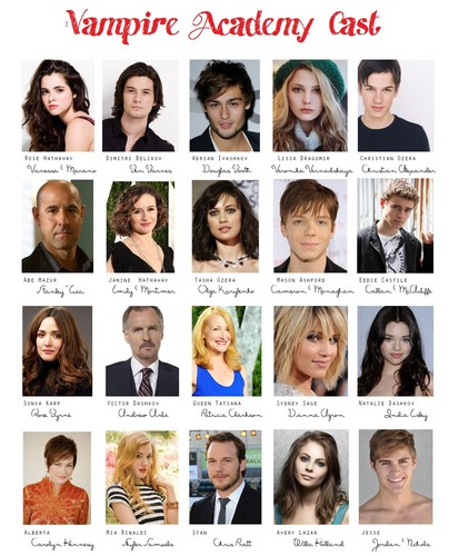 Vampire Academy Cast  - vampire-academy Photo