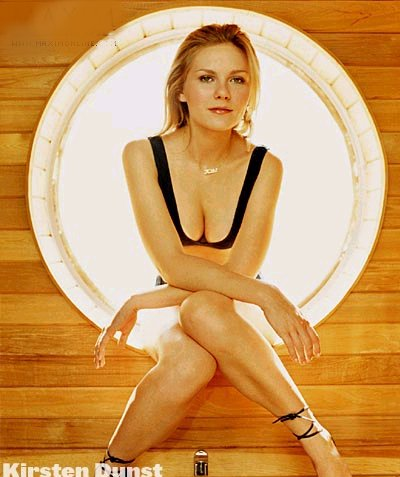 Kirsten Dunst wallpaper probably containing bare legs and tights entitled Verglas Photoshoot