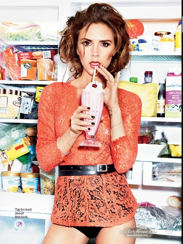 Victoria Beckham wallpaper titled Victoria Beckham Glamour Magazine US