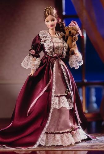 Victorian Barbie® Doll with Cedric Bear™ 2000