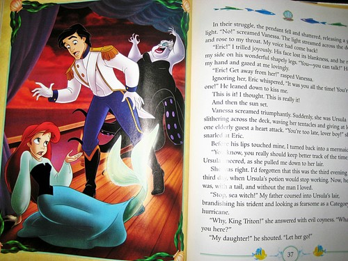 Walt Disney buku - My Side of the Story: The Little Mermaid/Ursula