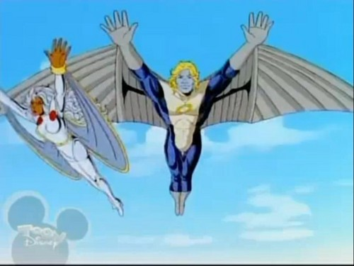 "Warren Worthington III from ""X-men : The Animated Series"""
