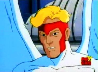 "Warren Worthington III from ""X-men : The Animated Series"""