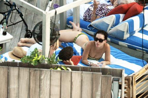 Wearing A Bikini In Miami [27 July 2012]