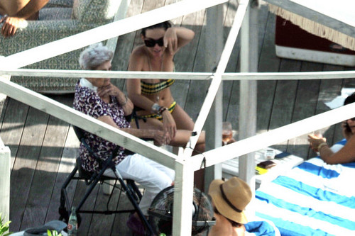 Wearing A Bikini In Miami [27 July 2012] - katy-perry Photo