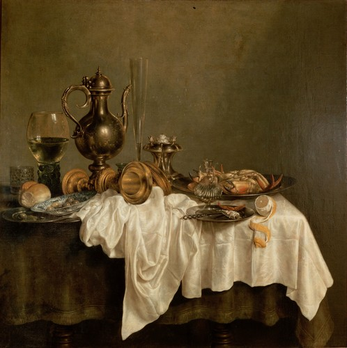 Willem Claesz Heda - Breakfast with a aragosta