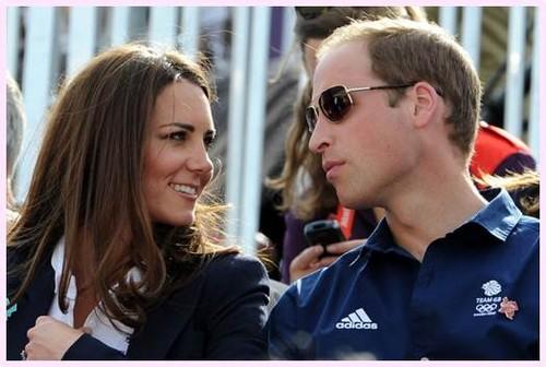 William&Catherine at the Olympics