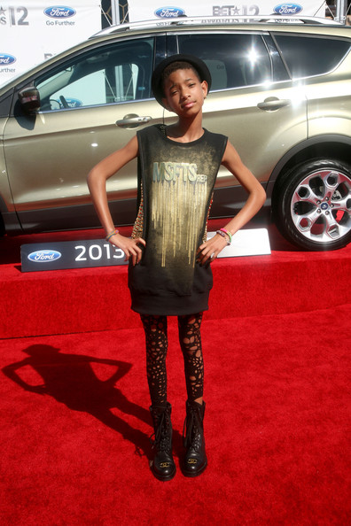 Willow at the BET Awards, Los Angeles, 1july 2012