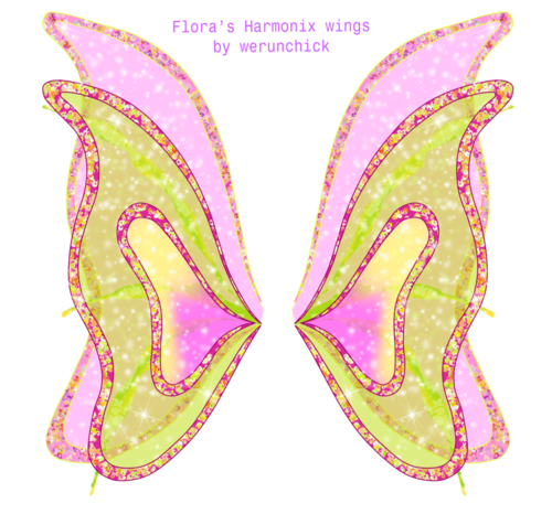 Winx Club fond d'écran called Winx club Harmonix wings