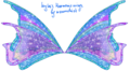 Winx club Harmonix wings