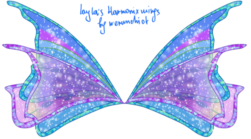 Winx club Harmonix wings - the-winx-club Photo