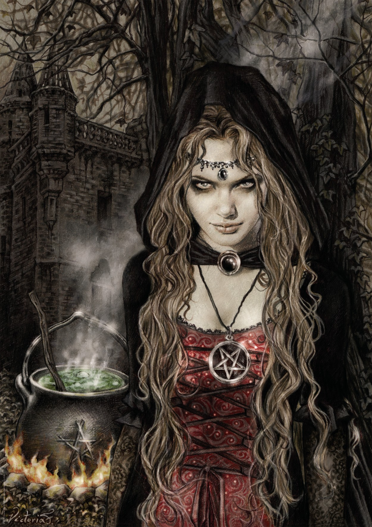 Supernatural Creatures images Witch HD wallpaper and background