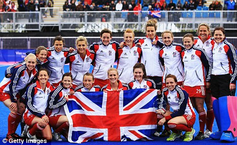 Womens GB hockey team