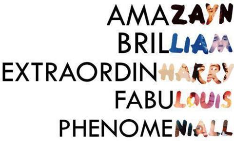 Words. . Wallpaper and background images in the One Direction club ... One Direction Names In Words