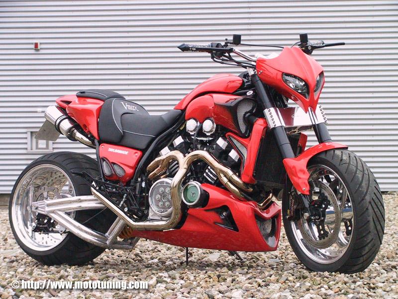 Motorcycles YAMAHA V-MAX
