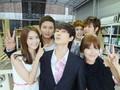 YoonSoo @ Selca with Eunhyuk, Kyuhyun, Yunho