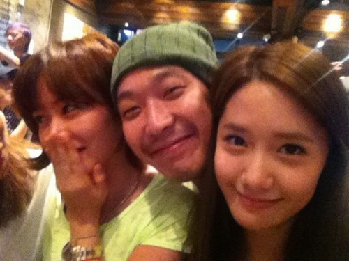 Yoona Selca with Haha and Son Ye Jin!