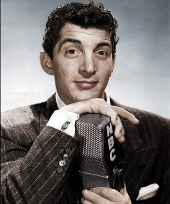 Dean Martin Обои containing a business suit entitled Young Dino