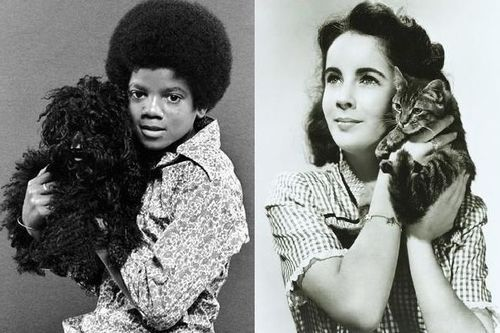 Young Michael and Elizabeth