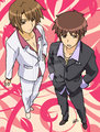Your hosts- Kyon and Itsuki
