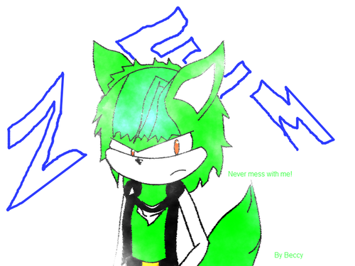 Zem the wolf