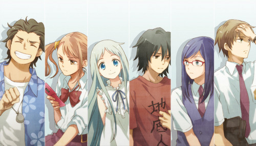 anohana group 사진 ^^