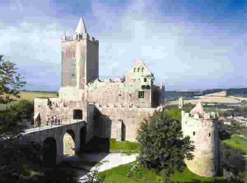 bad kösen, rudelsburg castillo