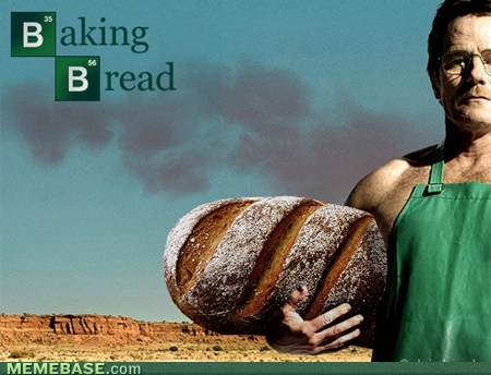 Breaking Bad fondo de pantalla titled baking pan de molde, pan