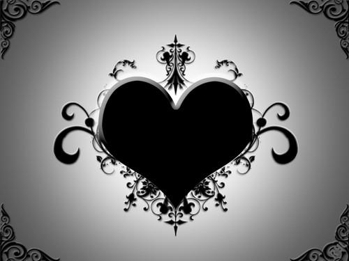 black 심장