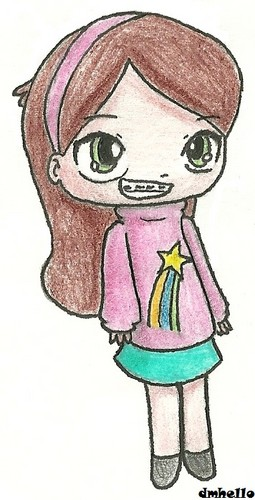 ちび Mabel Pines
