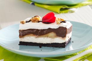 chocolat banna divisé, split