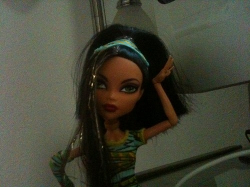 clao with a cool hair stile - monster-high Photo