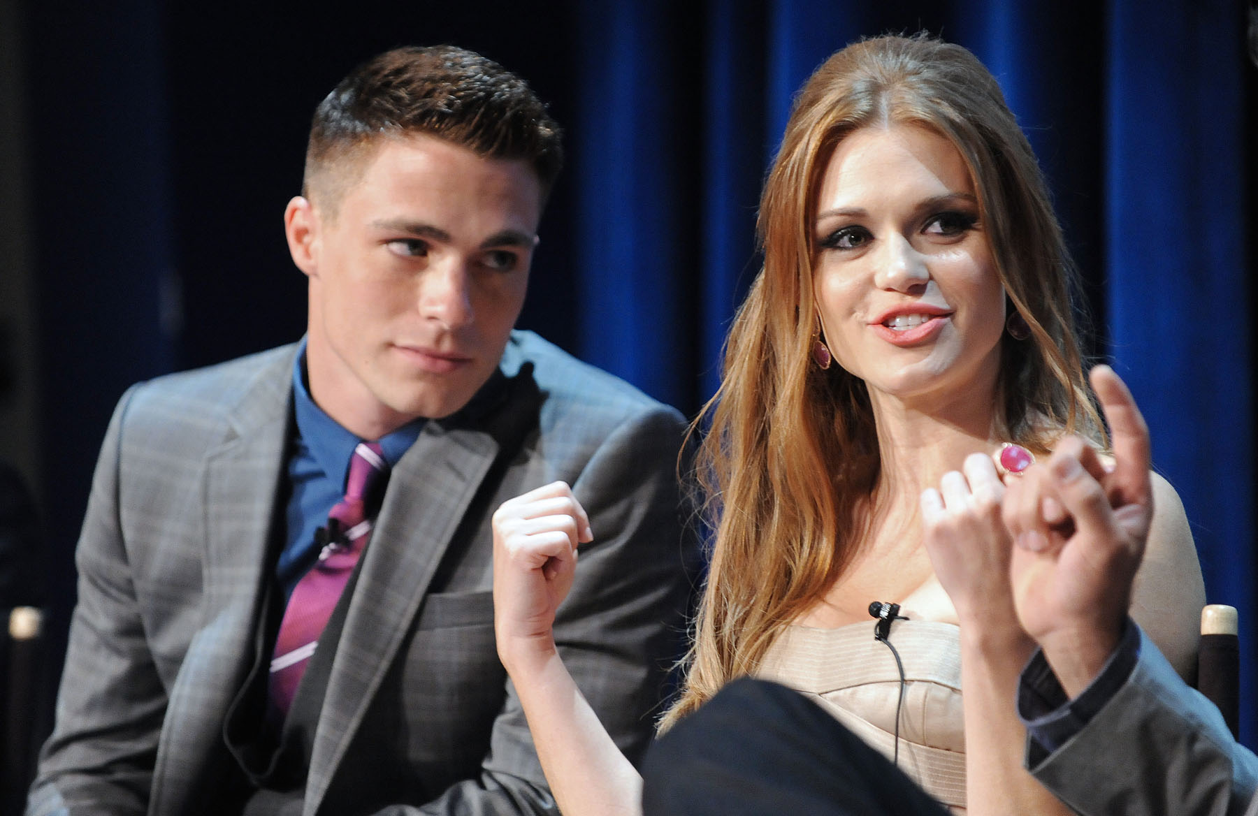 colton dating Teen wolf star colton haynes is engaged to his boyfriend jeff leatham, the actor announced sunday.