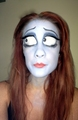 corpse bride makeup - corpse-bride fan art