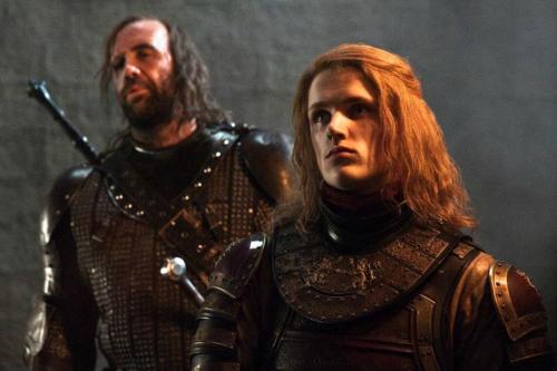 Sandor Clegane & Lancel Lannister