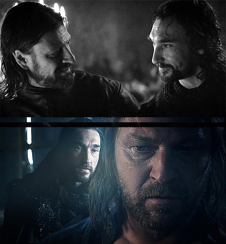 Ned & Benjen Stark