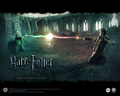 harry potter video game kertas dinding